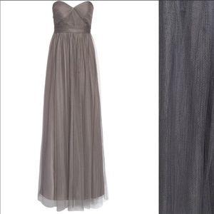 "Jenny Yoo ""annabelle"" gray bridesmaid dress!"